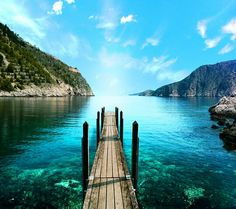 Cerulean & turquoise waters