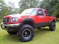 Lifted Ford Ranger |