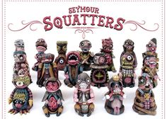 Seymour's SquattersSeymour bringing his Squatters to NYCC photo