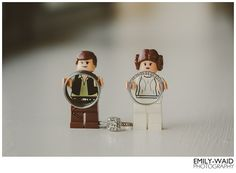 Lego Star Wars, mini figures, wedding bands, engagement ring, ring shot, Emily-Waid Photography