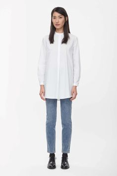 COS | Long tunic shirt