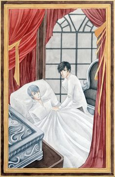 Sheehanmebaby.tumblr.com - Jem Carstairs and Will Herondale from The Infernal Devices by Cassandra Clare
