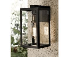 Beacon lighting Southampton 1 Light Small Wall Bracket in Antique Black | Outdoor House Lighting | Outdoor Lighting | Lighting