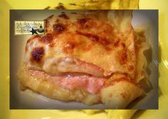 Lasagne al Prosciutto Cotto e Sottilette