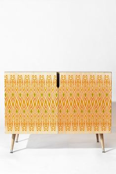 Amy Sia Ikat Tangerine Credenza | DENY Designs Home Accessories