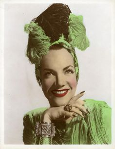 Carmen Miranda nails *Stiletto nails have been popular since the 1940s*