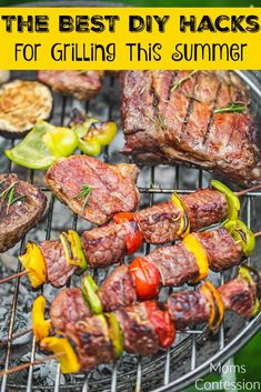 Don't miss our top DIY hacks for grilling this summer! Tons of great ideas to make you the King or Queen of the barbeque! Summer Recipes, Fall Recipes, Dinner Recipes, Summer Ideas, Dinner Ideas, Barbecue Recipes, Grilling Recipes, Grilling Tips, Pork Recipes