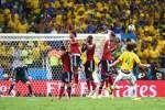 El central brasileño fue designado como el mejor jugador del partido que le ganaron a Colombia en cuartos del Mundial.
