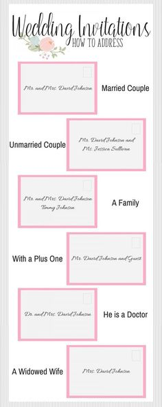 How to Fill Out Your Wedding Invitations #weddingplanninginfographic
