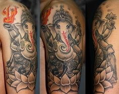 Ganesh with red
