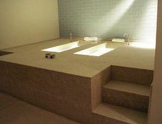blocco vasche idromassaggio in marmo, Spa-Concept