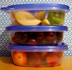 9 Kitchen Weight Loss Tips (1. Make fruits as accessible as a bag of chips, 2. Prepare a big container of salad, 3. Have measuring cups/spoons on the counter, 4. Pre-make snack packs, 5. Ditch the unhealthy foods, 6. Use smaller-sized plates, 7. Freeze fruits  veggies, 8. Double or even triple the recipe, 9. Put food away before you sit down to eat)