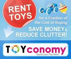 TOYconomy.com  Rent toys for a fraction of retail cost