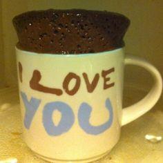 Moist Chocolate Microwave Mug Cake - Really moist! Add some chocolate chips, just for fun. :)