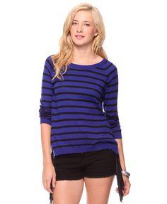 Striped Raglan Sweater | FOREVER21