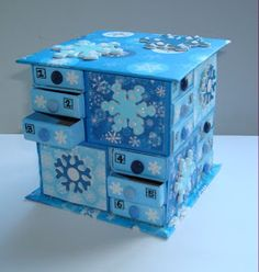 I've made another matchbox Advent Calendar, and have been asked in the past for instructions on how to make them - so here is a brief e...