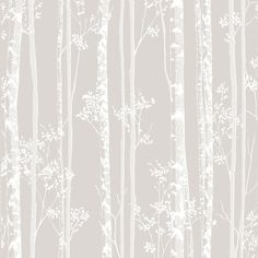 Linden Beige/White Wallpaper by Graham and Brown
