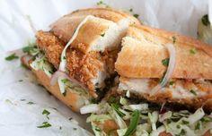Fried Chicken Sandwich, Bakesale Betty