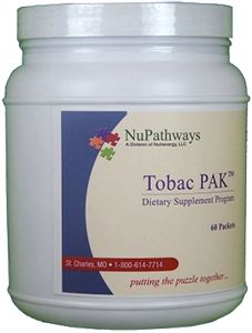Tobac PAK helps make the brain chemicals to relieve nicotine cravings. Nicotine achieves its initial effects by disrupting normal brain chemistry, helping some to stay alert and others to relax. If you have difficulty giving up tobacco, the all-natural ingredients in the Tobac PAK may help do it for you.
