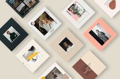 7 Free Social Media Templates – Free Design Resources Instagram Creator, Free Instagram, Instagram Posts, How To Use Photoshop, Free Photoshop, Social Media Template, Social Media Design, Studio, Free Design