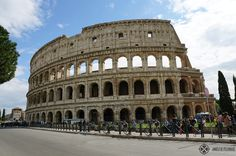 The Colosseum in Rome from outside