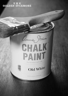 Love me some chalk paint!