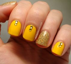 Purple Manicure, Yellow Nails Design, Orange Sapphire, Nails Inc, Nail Shop, How To Do Nails, Art Day, Nail Art Designs, Engagement