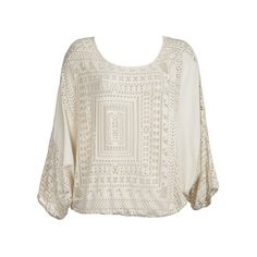 lola & sophie boho top in natural
