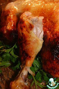 "Курица ""Секретная"" – кулинарный рецепт Turkey, Meat, Chicken, Recipes, Food, Meal, Eten, Recipies, Meals"
