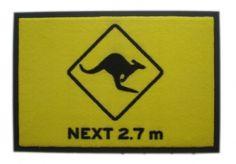 Doormat Kangaroo Crossing