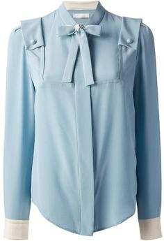 Chloé long sleeve shirt on shopstyle.com