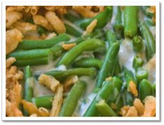 Gluten-Free Green Bean Casserole including recipe for French Fried Onions
