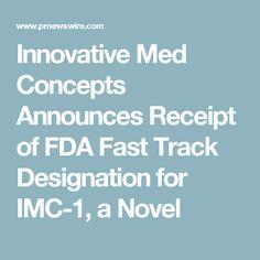 Fibromyalgia treatment - In January 2016, the FDA fast tracked the development of IMC-1 for treating fibromyalgia
