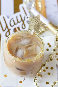Salted Caramel Iced Coffee Cocktail