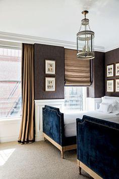 Masculine Boys room _Apartamento Jorge Elias Nova York (Foto: Fran Parente)