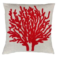 This set of Coral Reef decorative pillows from Fashion Street is fun and chic.  The 3 Dimentional pattern will come alive to the touch of your hand!