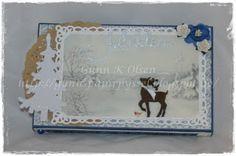Toffifee, sjokolade, chocolate, gave eske, gift box, scrapbooking, scrapbook, deer, Pion Design, paper, papir, paperfolding, papirbretting