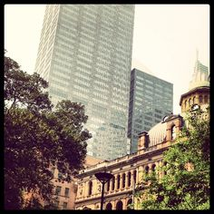 City life #sydney #city #citylife #buildings #skyscrapers #old #nsw @Costa Arvanitopoulos