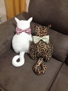 Almofada gato