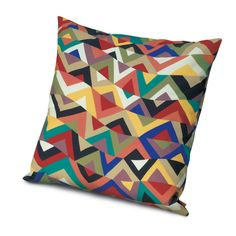 Missoni Home; triangles in strips
