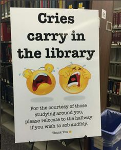 Up in the library during final exams! The panic is real!!!!