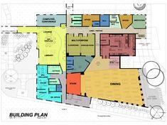 Ideas For Sport Design Architecture House Plans Bubble Diagram Architecture, Architecture Building Design, Cultural Architecture, Dream House Plans, House Floor Plans, Youth Center, Plan Design, Exterior Design, Flooring