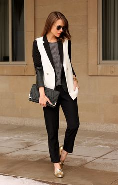 Digging loose layers? slouchy pants pair perfectly with a structured Worthington blazer! #jcpStyle (jcp.com 830-5571 and 626-1022)