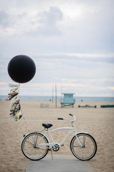 bike with tassel balloon via M Loves M @marmar