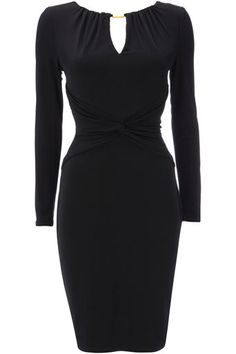 Black Gold Bar Jersey Dress , every woman needs an updated stylish LBD Looks Style, My Style, Every Woman, Girly Girl, Black Gold, Personal Style, Fashion Dresses, Classy, Bar