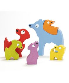 Look what I found on #zulily! Dog Family Puzzle by BeginAgain #zulilyfinds