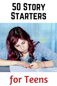 Sometimes the most difficult part of writing is the opening line. Here are 50 story starters to get your teens going on their creative writing assignments.