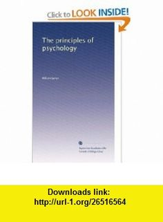 The principles of psychology (Volume 2) William James ,   ,  , ASIN: B0030ZSZ22 , tutorials , pdf , ebook , torrent , downloads , rapidshare , filesonic , hotfile , megaupload , fileserve