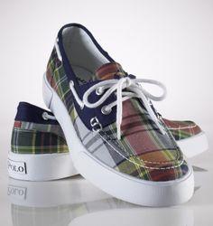 Polo canvas shoe