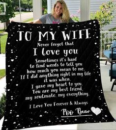 Custom Blankets To My Daughter Blanket - Perfect gift for Daughter - Q – Tee4lives Anniversary Surprise, Anniversary Dates, Perfect Gift For Girlfriend, Gifts For Wife, Personalized Family Gifts, Customized Gifts, Personalised Blankets, Custom Blankets, Comfy Blankets